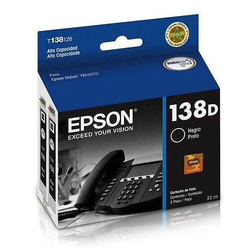 Cartucho de Tinta Epson 138D NEGRO