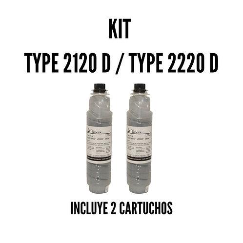 Kit Toner Ricoh Type 2120D Type 2220D 888169