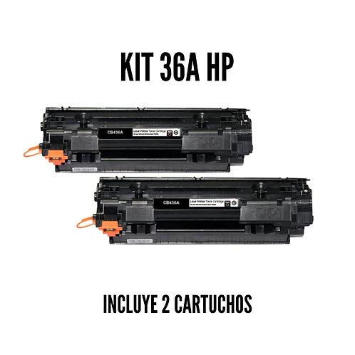 Kit Toner HP 36A CB436A