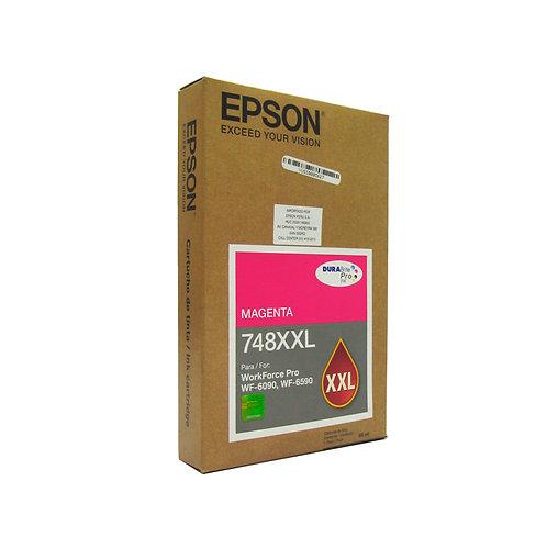 Cartucho de Tinta Magenta Extra Alta Capacidad Epson T748XXL 6090 6590