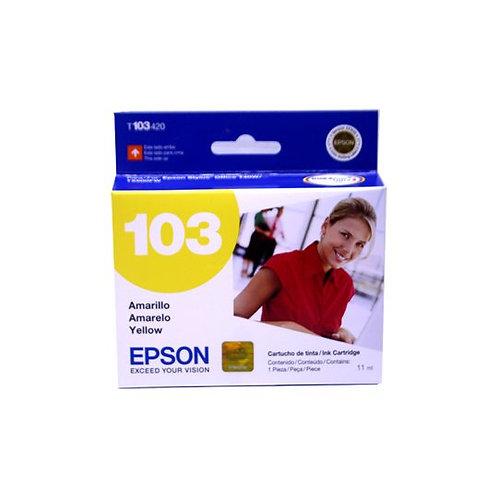 Cartucho de Tinta Epson 103 AMARILLO