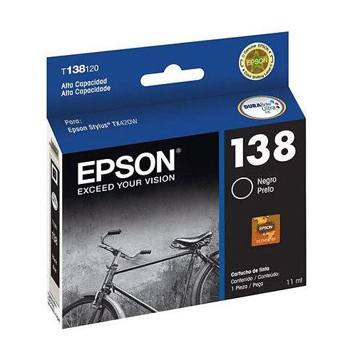 Cartucho de Tinta Epson 138 Alta Capacidad NEGRO