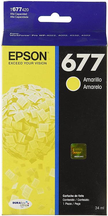 Cartucho de Tinta Amarillo (Alta Capacidad) Epson 677