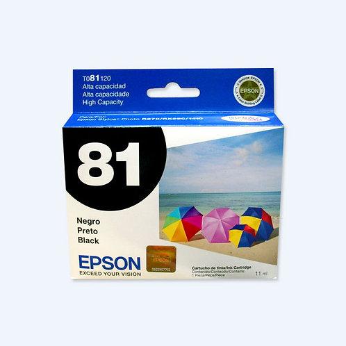 Cartucho de Tinta Epson 81 NEGRO