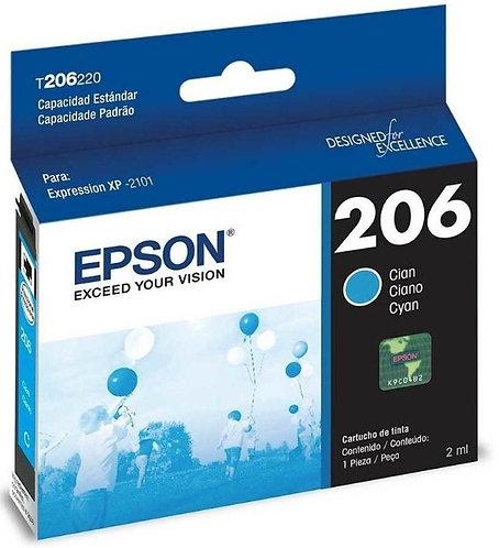 Cartucho de Tinta Epson 206 CYAN