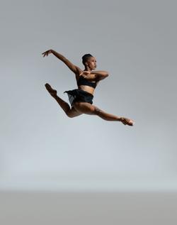 vandy black skirt jump