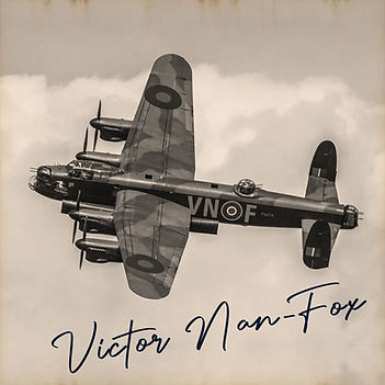 Victor Lancaster Bomber LI Sepia Sig.jpg