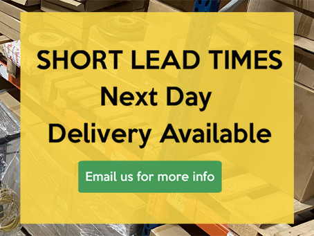 New shorter lead times