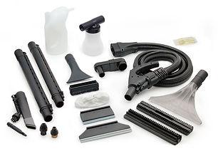 Victor SL8000 Steam Cleaner accessories.