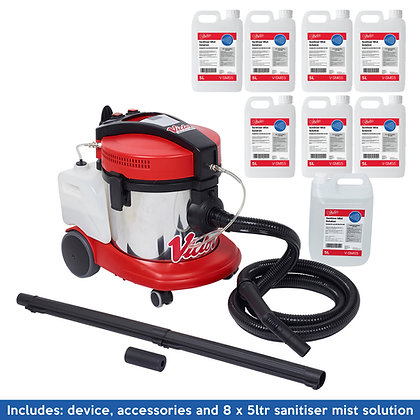 Schools Pack - Mist Pro 360 - Surface Sanitising System - includes 8 x 5ltr
