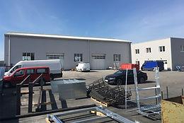 Novostavba výrobní haly - Rouchovany