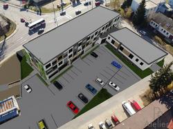 Revitalizace administrativní a stravovací budovy