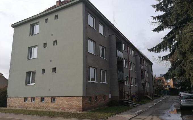 Realizace nových žb lodžií v Náměšti nad Oslavou.