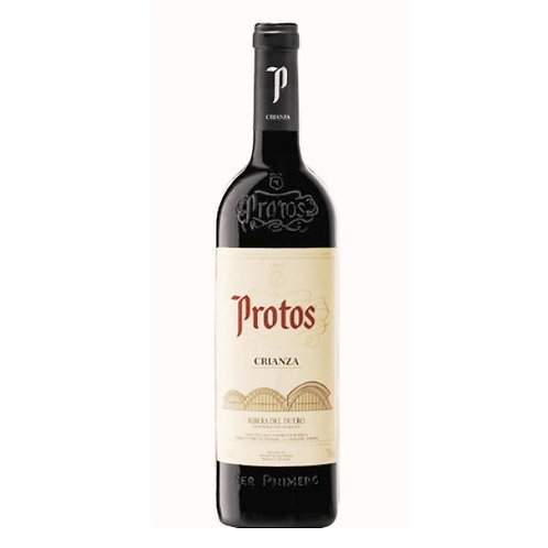 Protos Crianza x Media Botella