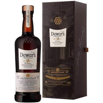 Whisky Dewars 18 años