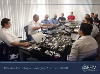 Desenvolvimento: Palestra Tecnologia e soluções ABELV e GEMÜ