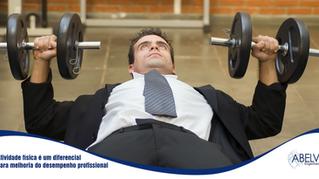 Atividade física é um diferencial para melhoria do desempenho profissional