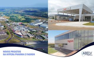 Novos Projetos na Hypera Pharma e Fagron - Fortalecem a presença da ABELV ENGENHARIA no Segundo Maio