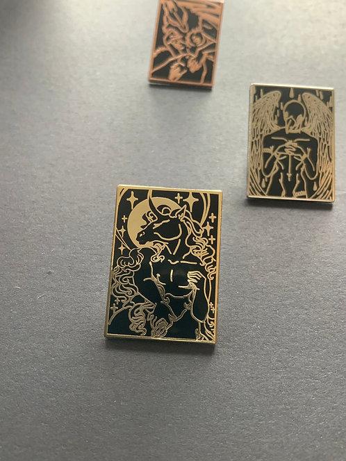 Trans Unicorn Hard enamel pin