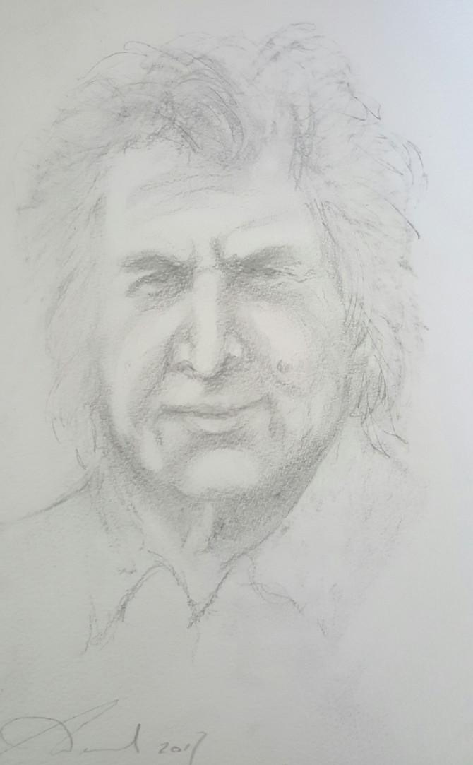 A Birthday Sketch: Gray Jolliffe