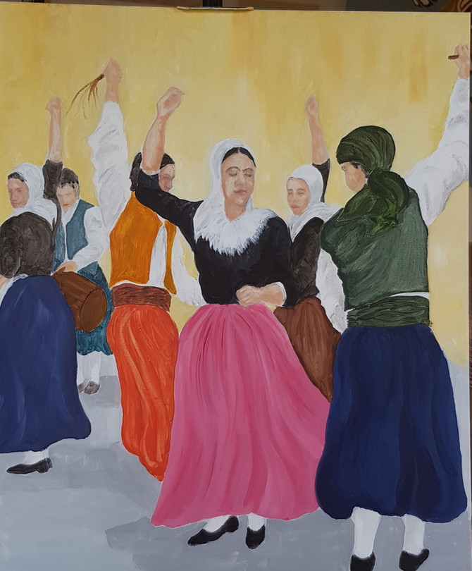 Dancers in Soller