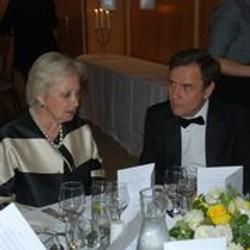 Pamela Harper and guest speaker Greg Hands MP