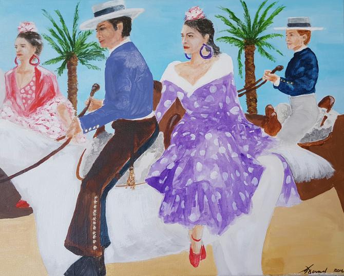 The Feria Del Caballo, Jerez, Spain