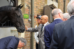 Gift of Saddle to HM The Queen 2016