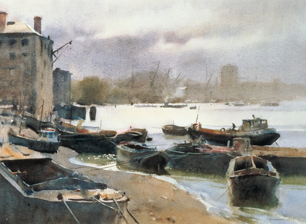 River Thames Artworks and Exhibition