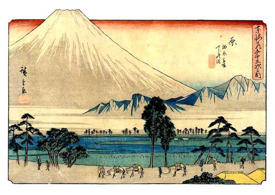 Inspiring Artists: Hiroshige