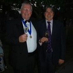 Andy Tarrant and Paul Sturges President's Weekend 2021