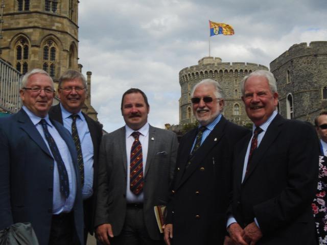Windsor Castle - Garter Day 15th June 2015