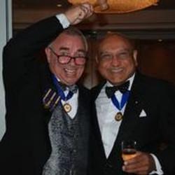 Kevin Giddings and Umar Patel President's Weekend 2021
