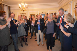 New Members Evening applause