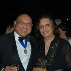 Mr and Mrs Umar Patel President's Weekend 2021