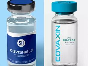 CoviSheild? Covaxin? Vaccinate?