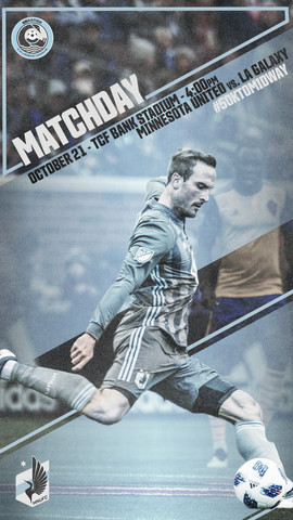 Oct 21 Matchday Poster