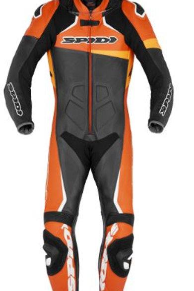 Spidi GB CE Race Warrior Perforated Pro Suit Blk Orange