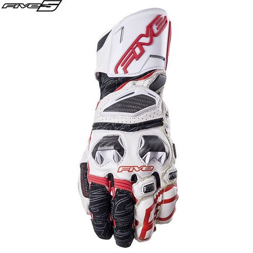 FIVE RFX RACE GLOVE RED-WHT