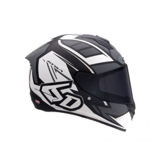 HELMETS ATS-1R BLACK AND WHITE