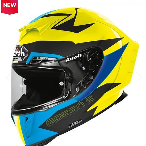 GP 550 S VENOM WHITE YELLOW BLUE MATT