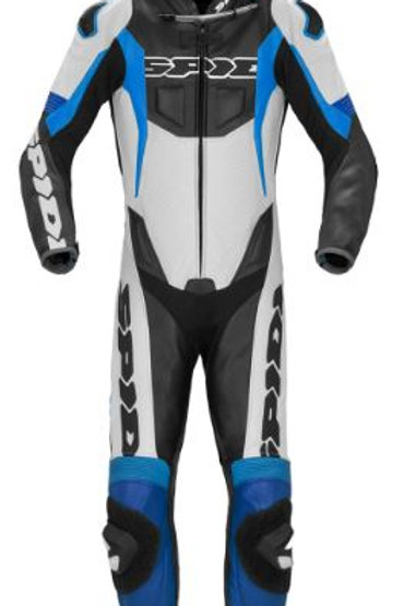 Spidi GB Sport Warrior Perforated CE Pro Suit Blk Blue