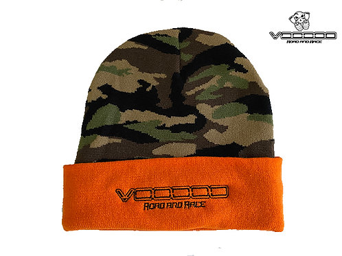 VOODOO BRANDED BEANIE - ORANGE