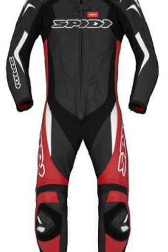 Spidi GB Super Sport Wind CE Suit Blk Red Wht