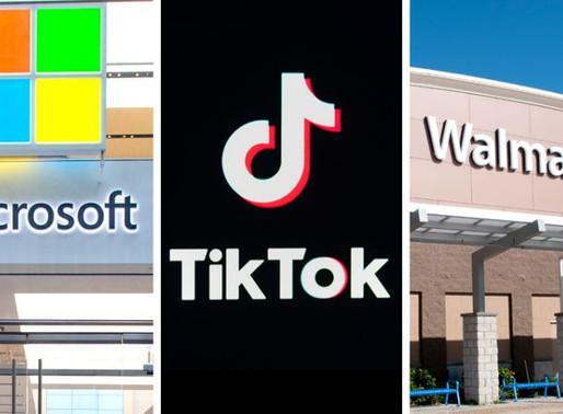 Social Media App TikTok CEO quits as Walmart joins Microsoft bid for buyout