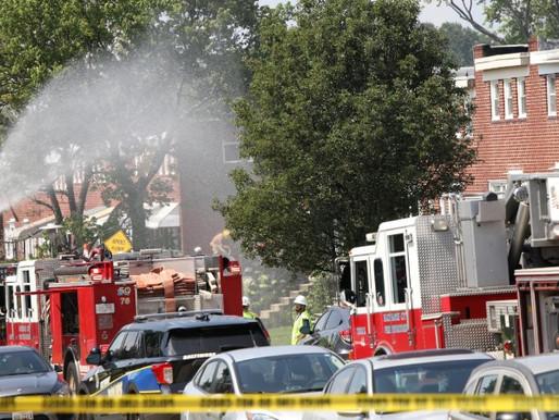 Blast tears through Baltimore neighborhood