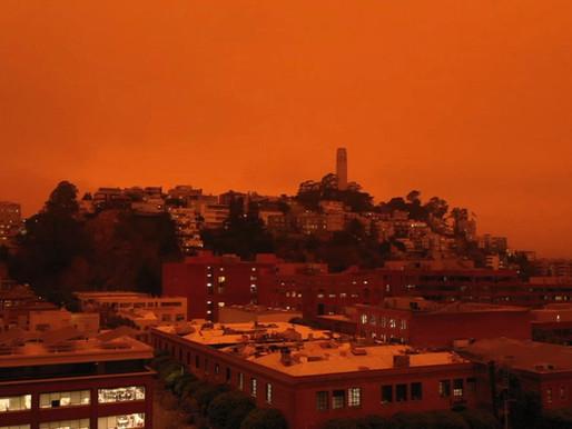 Orange Skies Across Bay Area, Here's why?