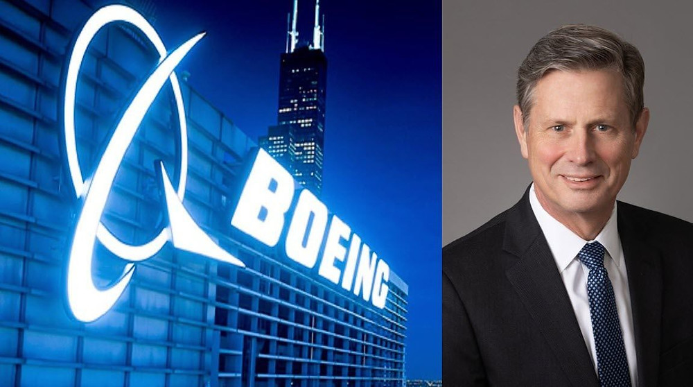 Boeing Co's (BA.N) communications chief Niel Golightly abruptly resigned on Thursday, following an employee's complaint over an article the former U.S. military pilot wrote 33 years ago arguing women should not serve in combat.
