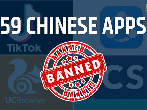 India bans 59 Chinese apps including TikTok