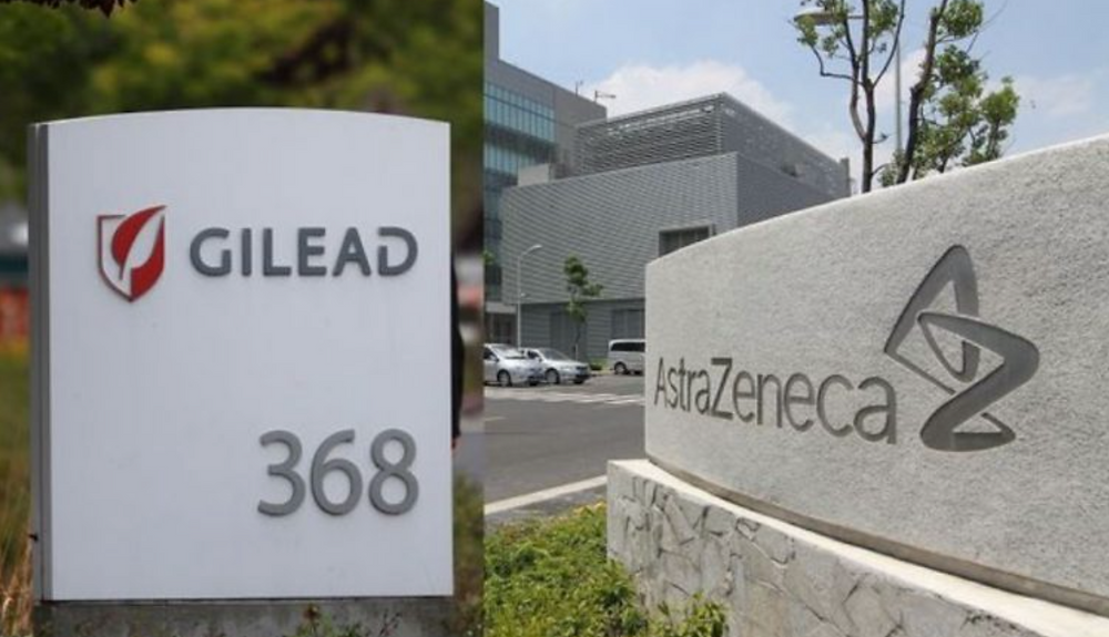 Talks about a Megamerger betn Gilead and Astrazeneca